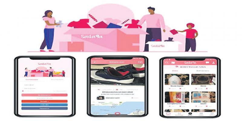 Sada9a, une «appli» pour organiser les actions de charité
