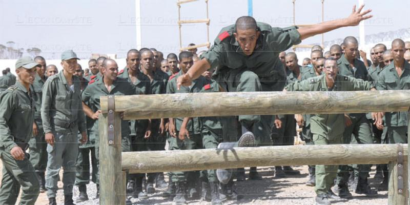 Service militaire: Une journée avec les appelés des Blindés de Guercif