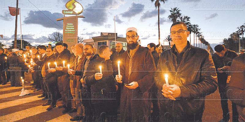 Raffinerie Samir: Des bougies pour commémorer un arrêt de mort