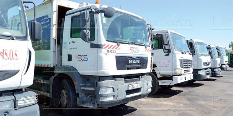 Oujda: Un nouveau délégataire pour la collecte des déchets