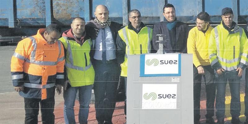 Tanger enterre ses déchets