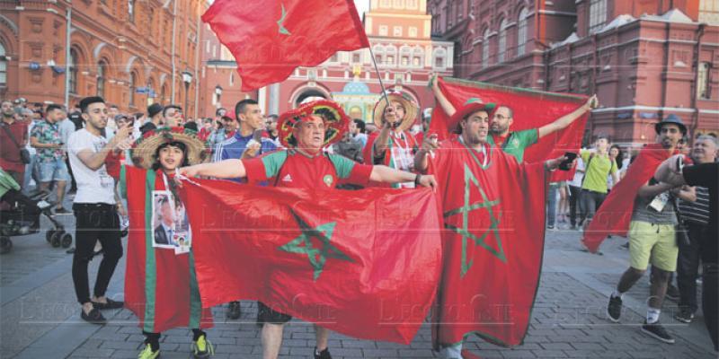 Mondial Russie: Ambiance de carnaval à la Place Rouge
