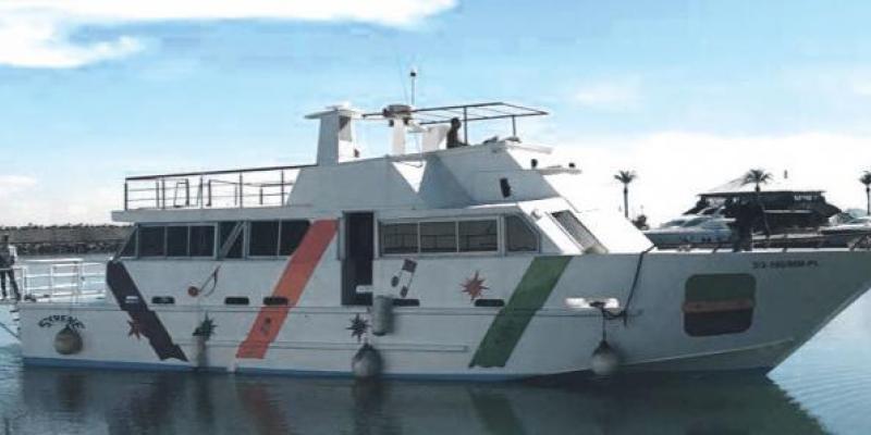 Marina Smir: Des sorties en mer d'un genre nouveau