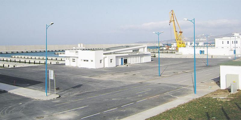 Tanger: Le port de pêche fin prêt