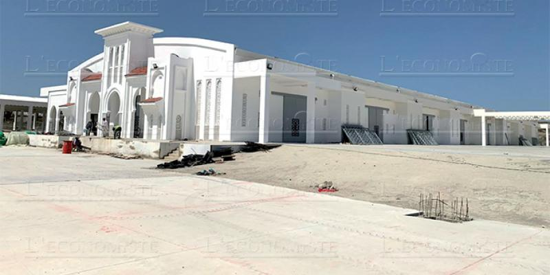 Tanger: Le marché de gros prêt à entrer en service
