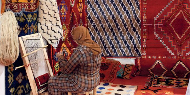 Tapis traditionnel: Une foire haute en couleurs