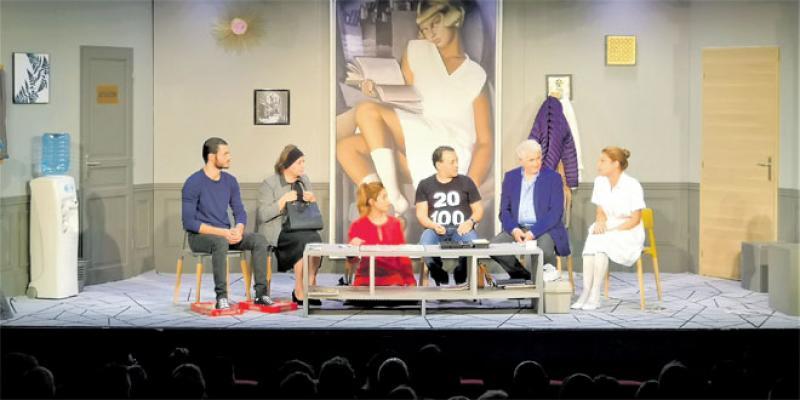 Théâtre: Baffie monte sa cage aux folles