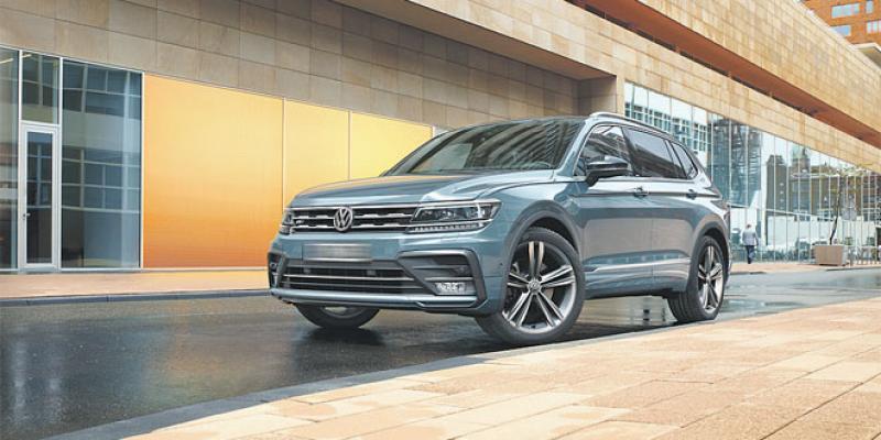 Volkswagen repositionne son offre Tiguan