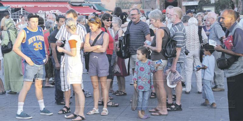 Tourisme: Plus de 5 millions d'arrivées en 6 mois