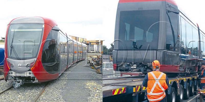 Casa-Tramway: CMA CGM embarque les rames de la 2e ligne