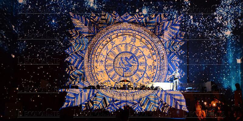 Diapo-Le spectacle création des musiques sacrées: un hymne aux «savoirs ancestraux »