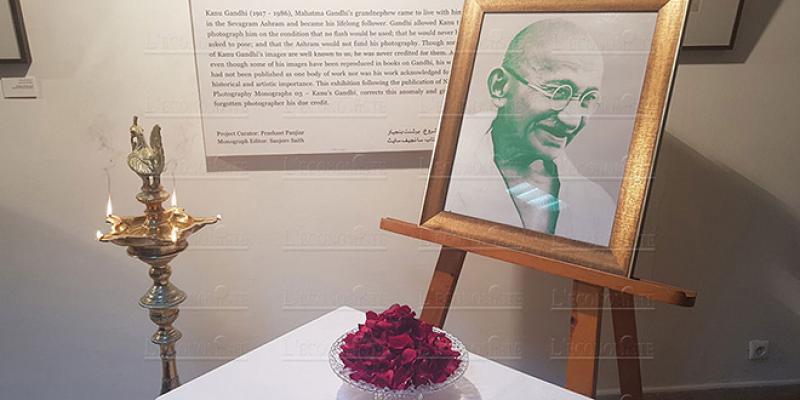 Des photos rares de Mahatma Gandhi à Fès