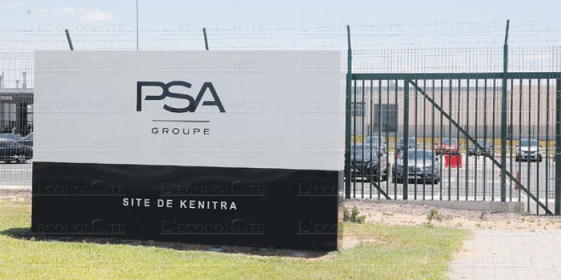 Le détail de l'écosystème industriel de PSA Maroc