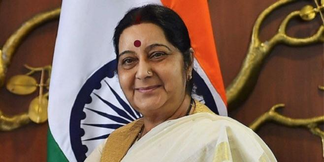 La ministre indienne des Affaires étrangères au Maroc