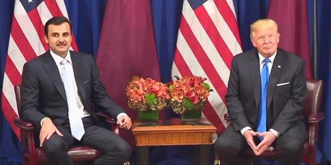 Le président Trump recevra l'émir du Qatar