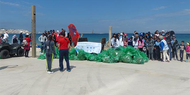 Plage propre : Tanger sensibilise