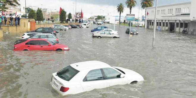 Dispositif de protection contre les inondations à Beni Mellal