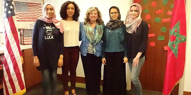 """USA : Des lycéennes marocaines aux """"TechGirls"""""""