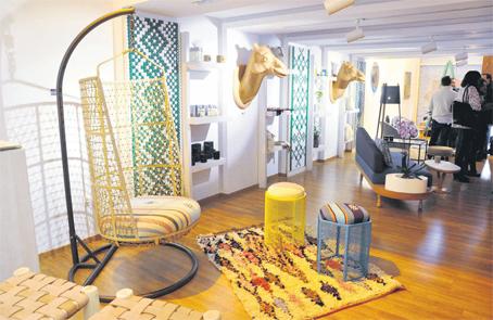 Le design et l artisanat vert s invitent la galerie h for Difference design et artisanat