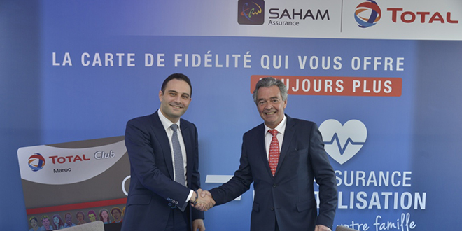 Assurance : Saham et Total Maroc lancent une nouvelle offre