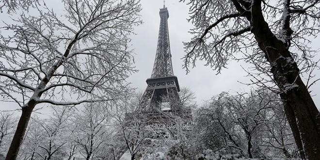 La Tour Eiffel fermée