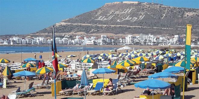 Tourisme : Légère hausse des nuitées à Agadir