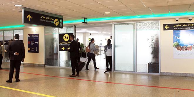 DIAPO-Aéroport Mohammed V: Voici la nouvelle zone arrivée dédiée aux nationaux