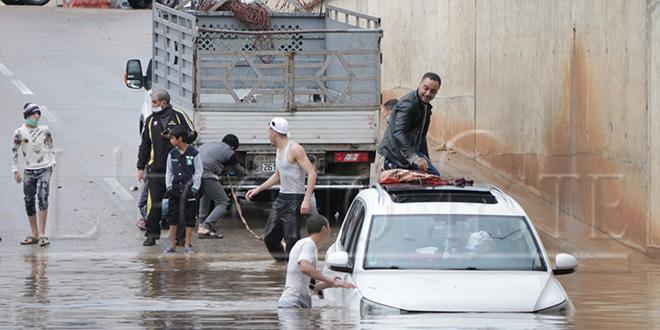 Diapo-Fès : Des quartiers sous les eaux