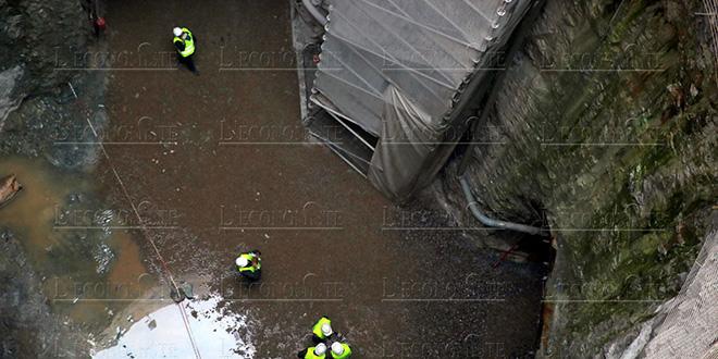 Stockage des eaux pluviales: Ça avance pour la galerie de Hay Sadri