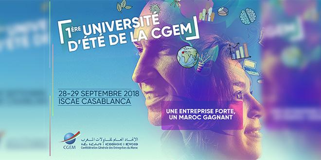 LIVE-1re édition de l'Université d'été de la CGEM