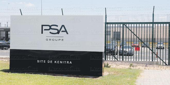 PSA: Baisse des ventes mondiales, percée au Maroc