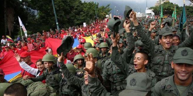 Le Venezuela montre ses muscles