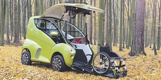 La voiture qui révolutionne la mobilité des personnes en fauteuil