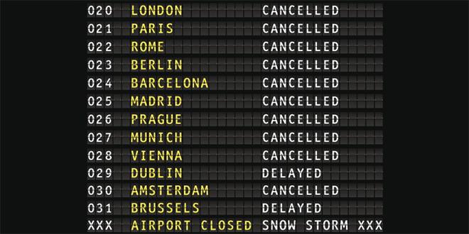 Espagne : Des dizaines de vols annulés