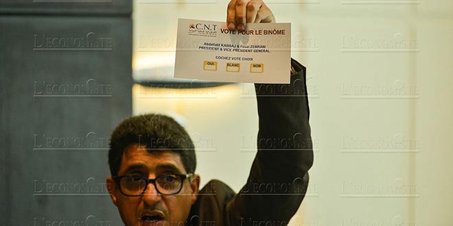 DIAPO-CNT: Abdellatif Kabbaj reconduit sans surprise