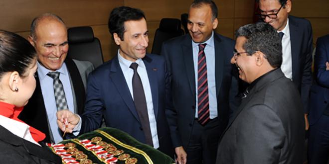 Ministère de l'Économie et des finances: Wissams royaux pour les fonctionnaires