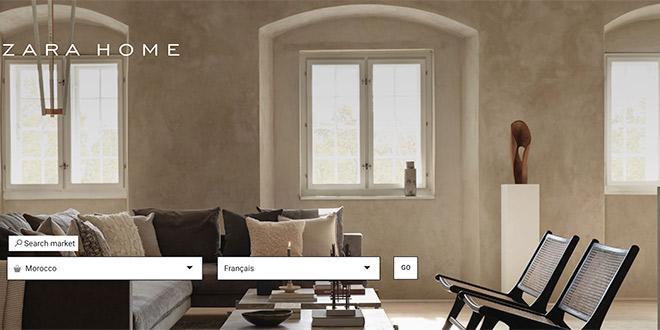 Zarahome lance sa boutique en ligne au Maroc