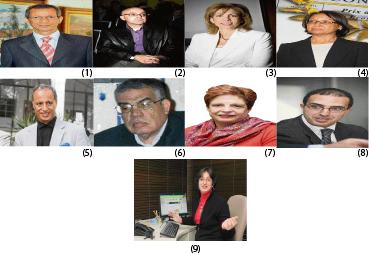 Membres du jury de l'adolescence